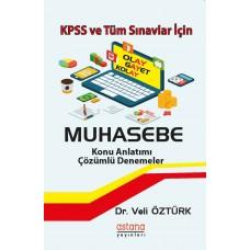 KPSS ve Tüm Sınavlar İçin Muhasebe Konu Anlatımlı Çözümlü Denemeler