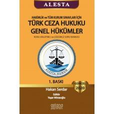 Alesta Türk Ceza Hukuku Genel Hükümler