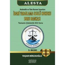 Alesta İdari Yargılama Usulü Hukuku SORU BANKASI (3. Baskı)